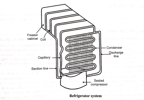 Refrigerator-Definition, Main Parts or Component, Working