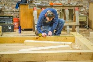 Mark timber framing