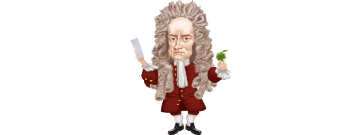 Image result for isaac newton funny