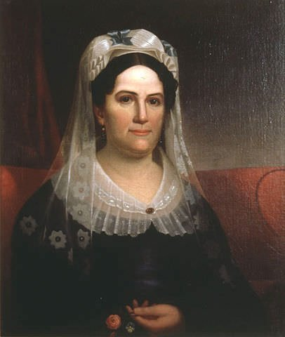 Rachel Donelson Jackson in a painting by Ralph E.W.Earl