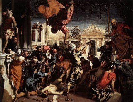 Miracle of the Slave (1548) - Jacopo Tintoretto