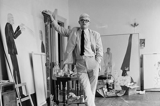 David Hockney in 1963