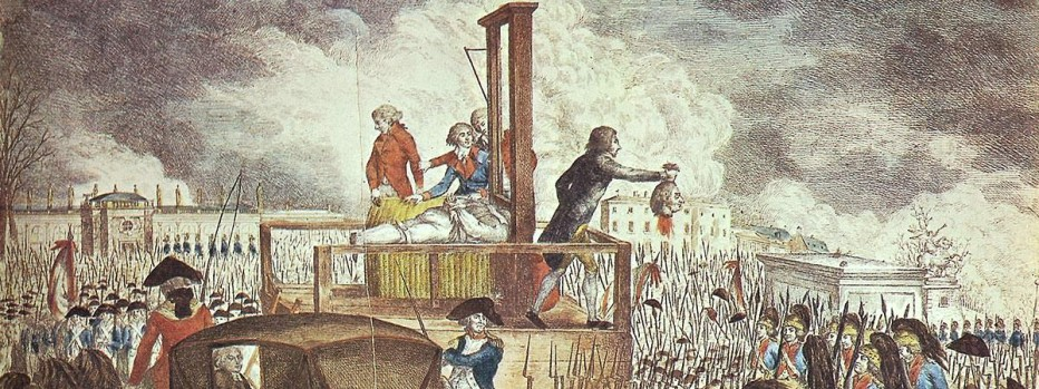 the french revolution � the reign of terror about history
