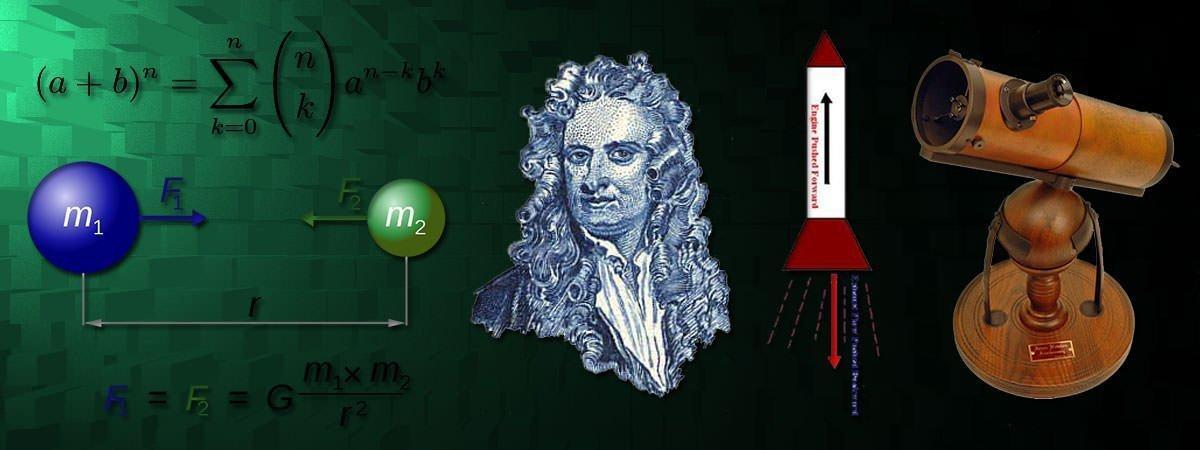 Isaac Newton Accomplishments Featured