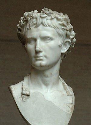 Bust of Augustus in Glyptothek