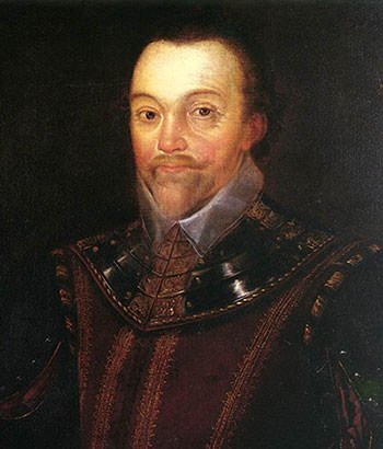 Portrait of Sir Francis Drake