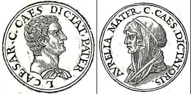 Julius Caesar's parents