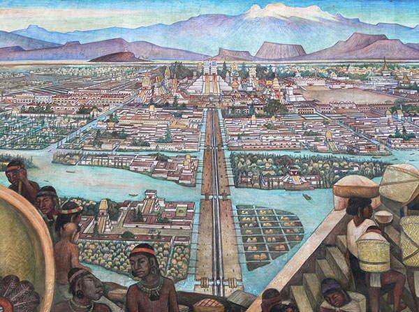 Tenochtitlan recreation