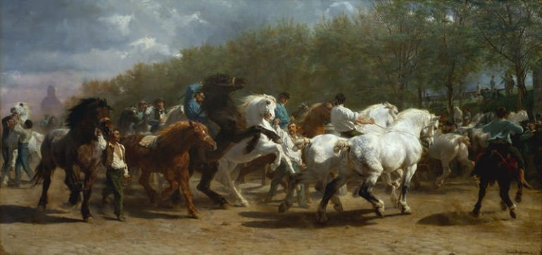 The Horse Fair (1853)