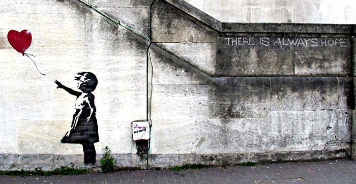 Balloon Girl (2002) - Banksy