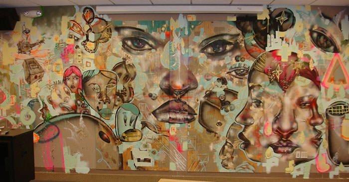 Facebook mural by David Choe