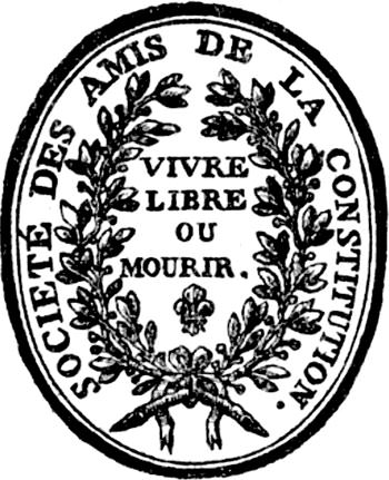 Seal of the Jacobin Club