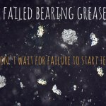 Case study: failed greased bearing cost £100k by not sampling. Don't make the same mistake.