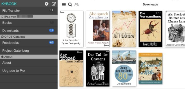 kybook ebook app ios