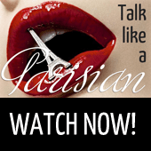 Talk like a Parisian free Webinar