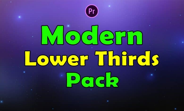 Download Premiere Pro Modern Lower Thirds Pack - Learn Practice ...