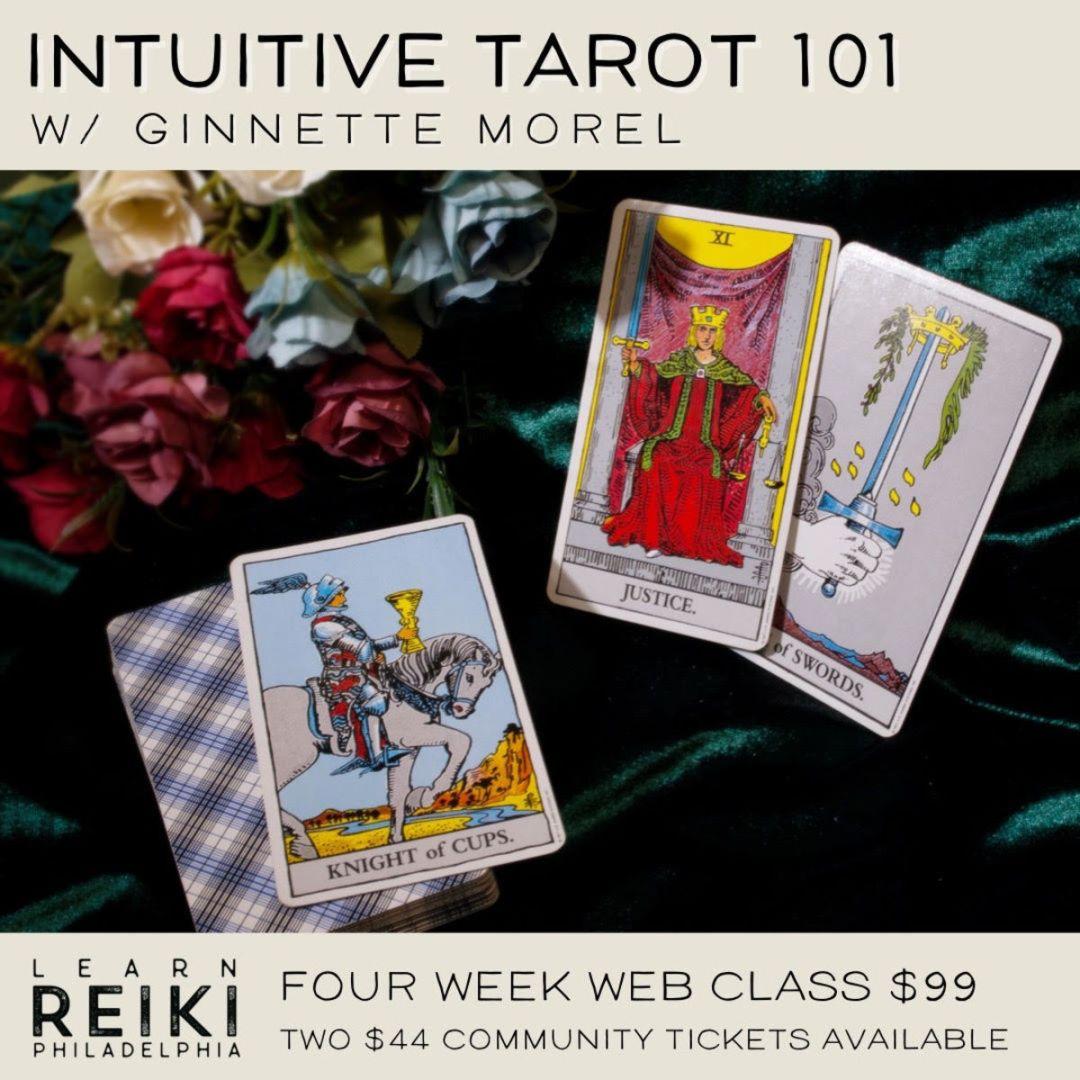 Intuitive Tarot 101 class image