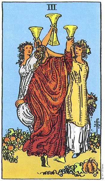 Three III Of Cups