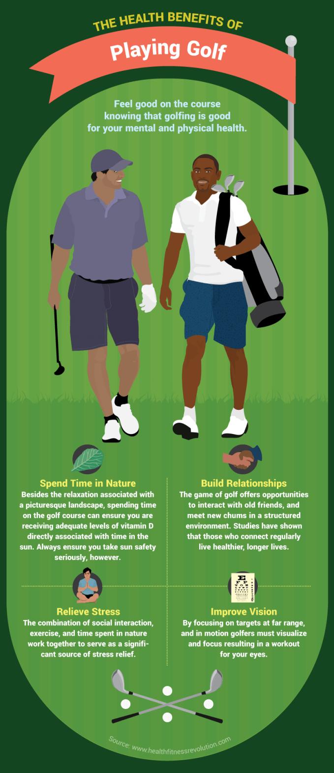 Health Benefits of Golf - Vanilla Gorilla Golf