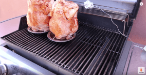 beer can chicken on grill