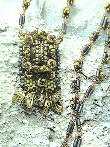 Tibetan Pendant with Strap