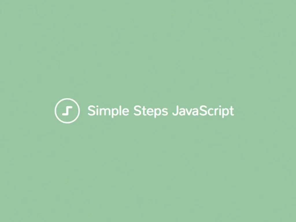 simple steps javascript