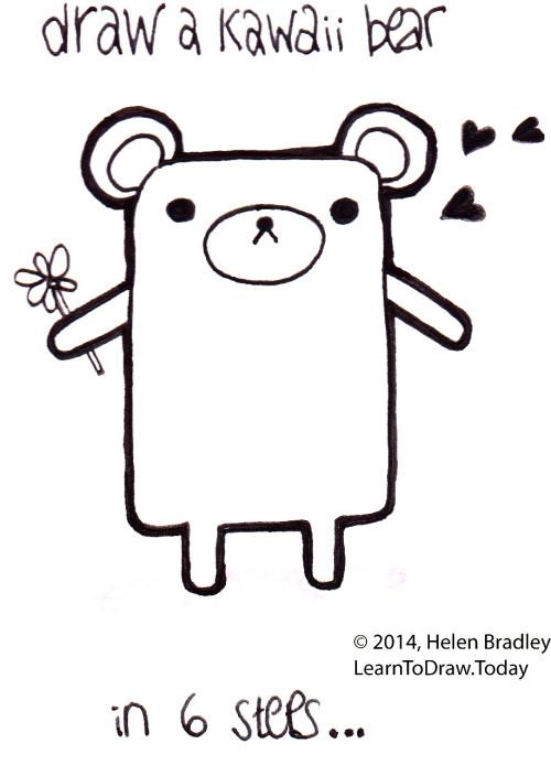 kawaii drawing : Learn To Draw