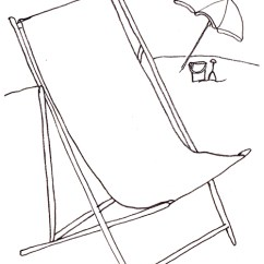 How To Make A Wooden Beach Chair Student Table And Set Draw In Six Steps Learn Drawing