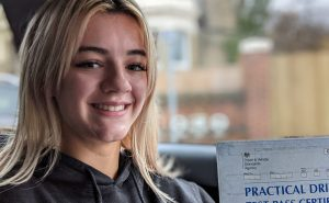 Alpha Driving School brings Success for Abby