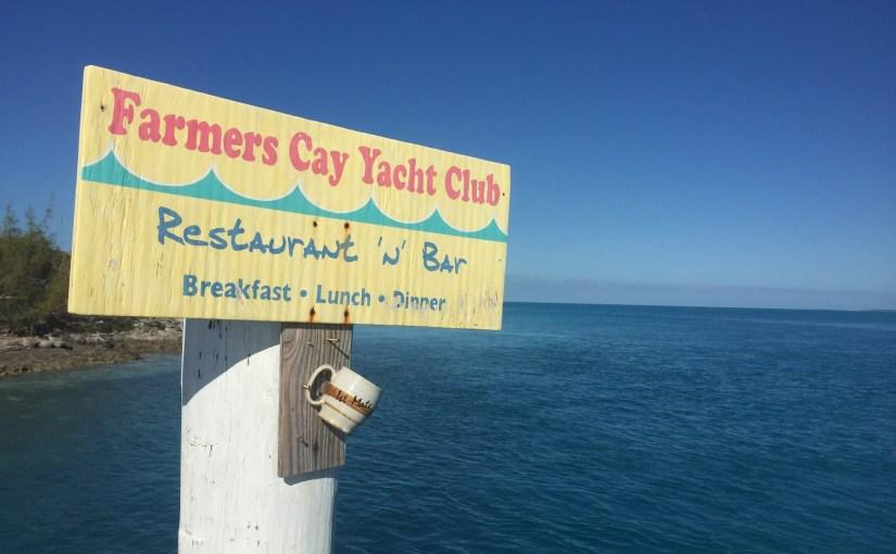 Little Farmer's Cay…..!!!!