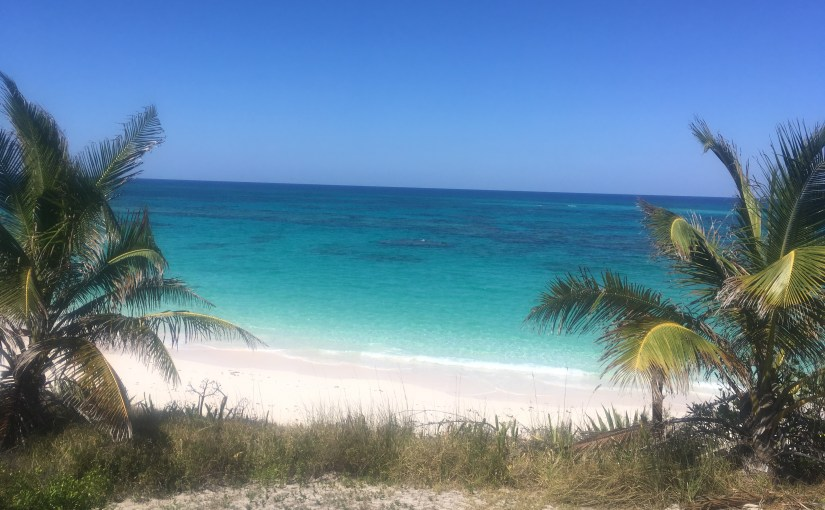 Eleuthera…spiders and seaglass….and breaking stuff