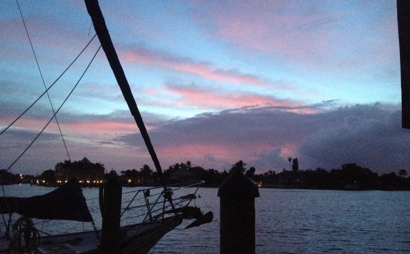 A season at the dock…..Part I