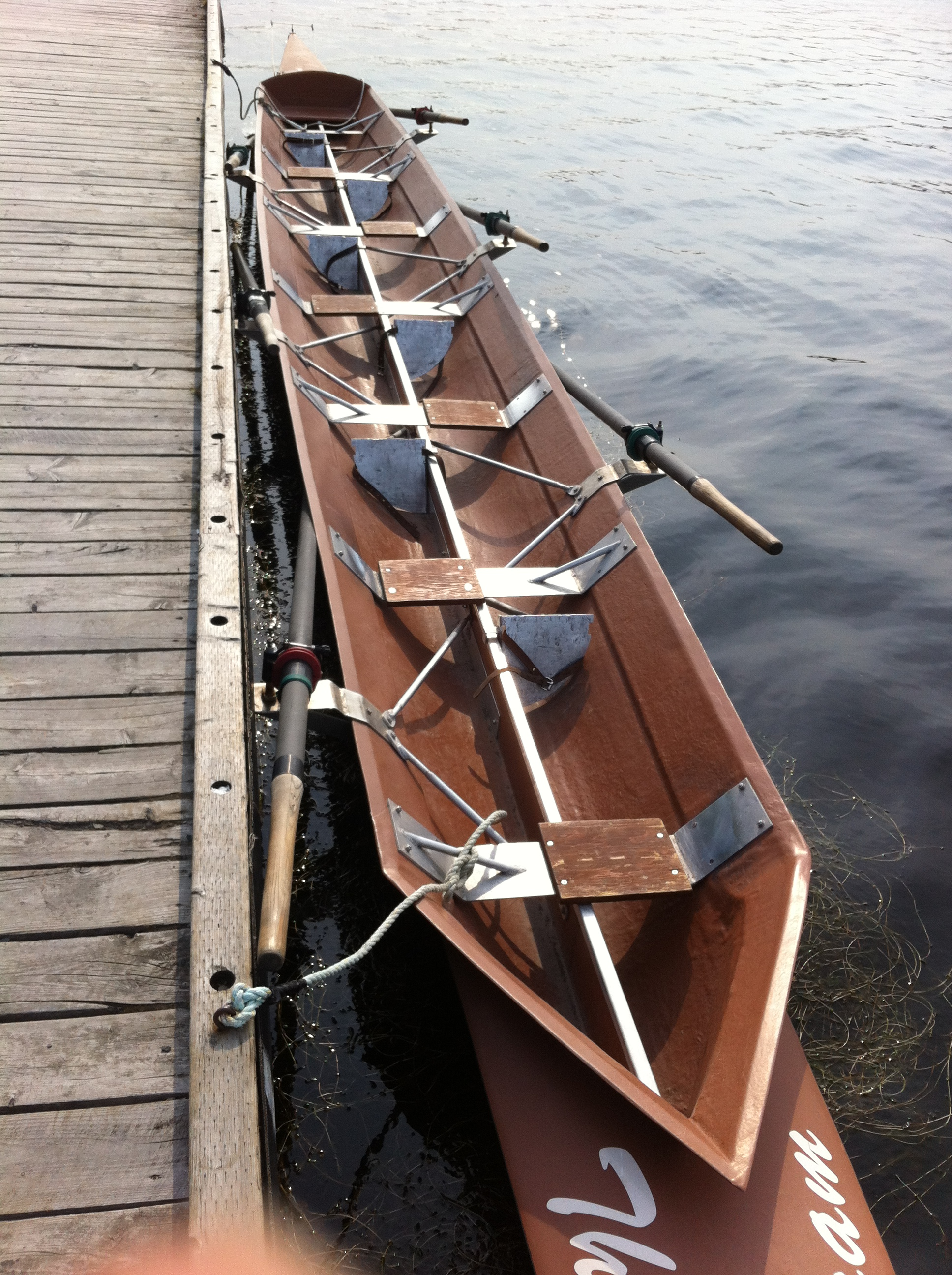 The Boat Fixed Seat Rowing