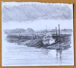 planning sketch of Thornham