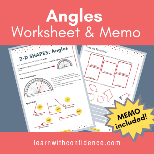 small resolution of 2D Shapes Angles (Worksheet and Memo) (Grade 5)   Learn with Confidence