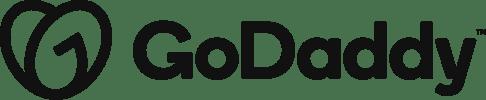 GoDaddy Logo Black