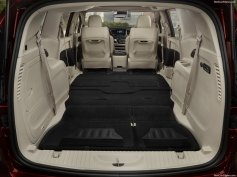 2017 Chrysler Pacifica Trunk space with all seats down