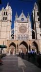 Das ist die wunderschöne gothische Kathedrale in León