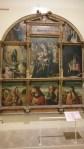 Ausstellung in der neuen Kathedrale Salamanca