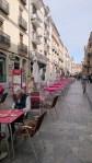 Cafèstraße in Salamanca