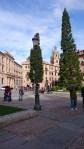 Salamanca Platz vor der neuen Kathedrale