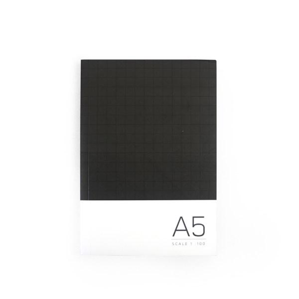 A5 Sketchbook-Black01