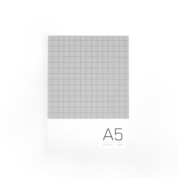 A5 Sketchbook-Gray01