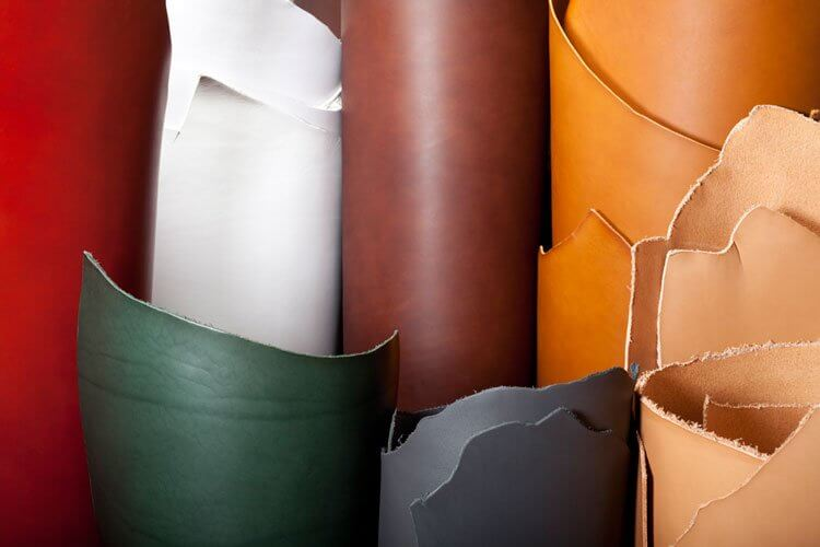 leather portfolio colours