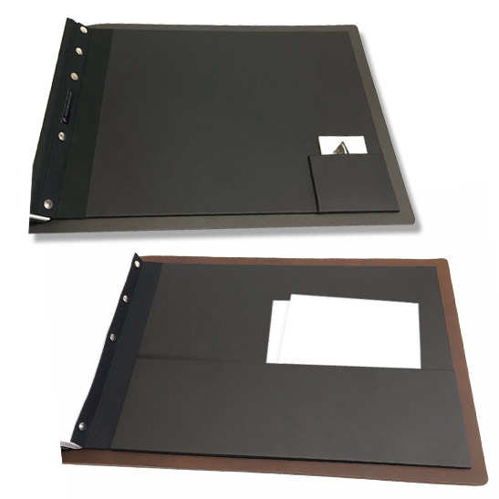 Useful inner pocket for your leather portfolio