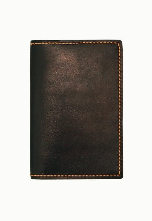 Leather.PH Traveler's Wallet - Black