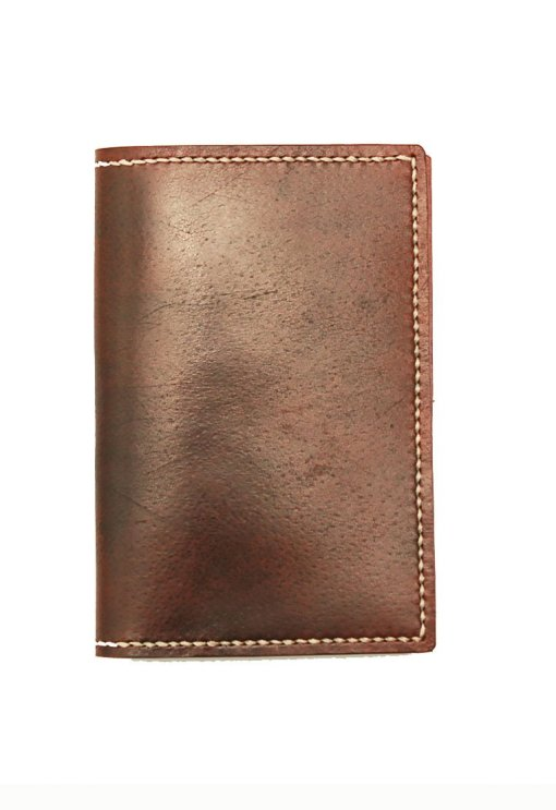 Leather.PH Traveler's Wallet - Brown