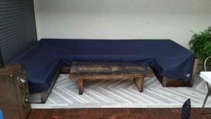 Resaraunt furniture cover
