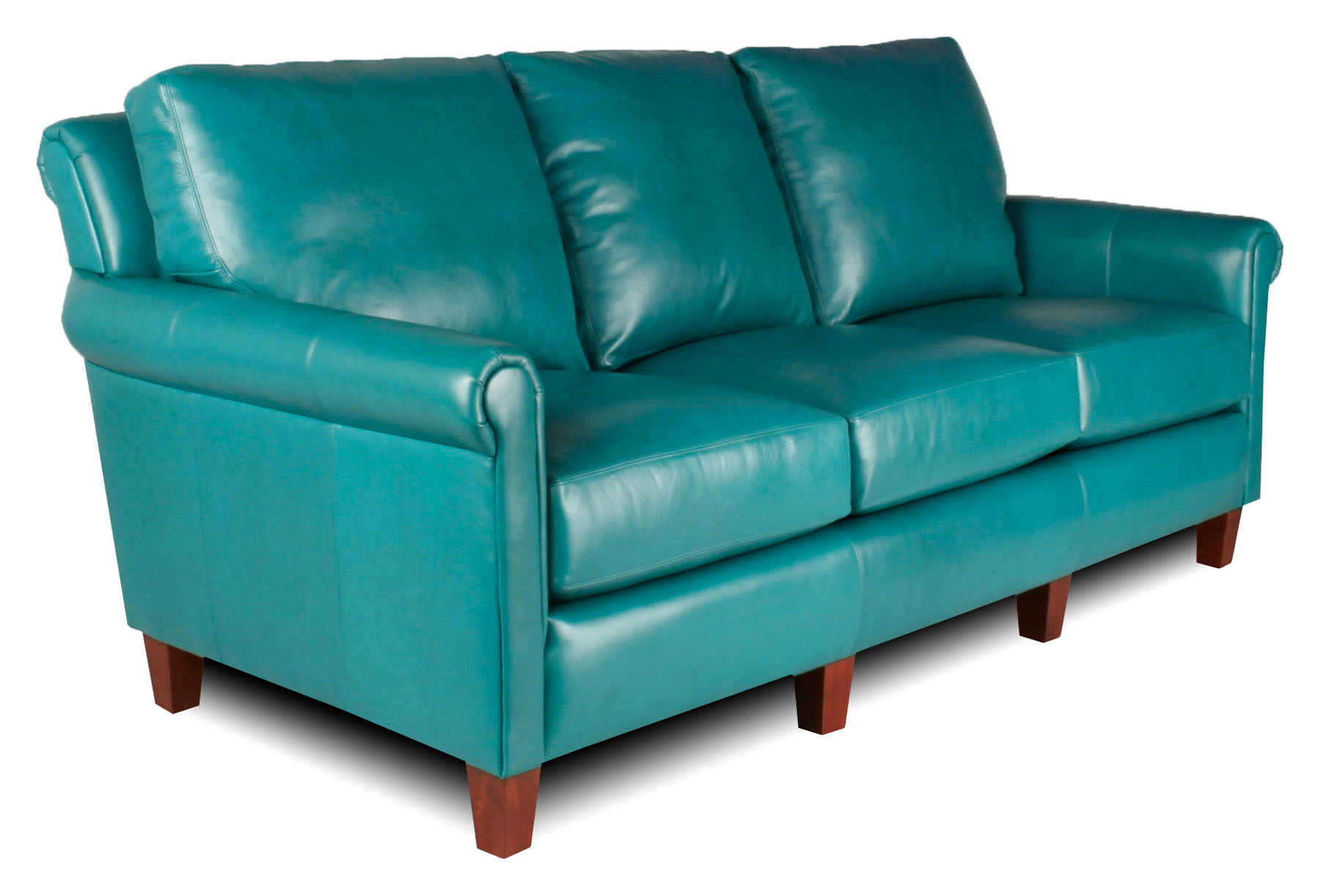 Teal Leather Chair Kenwood Leather Furniture