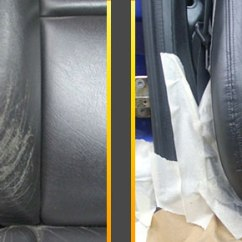 How To Repair Leather Sofa Springs Brands The Doctor | And Car Seat Crease